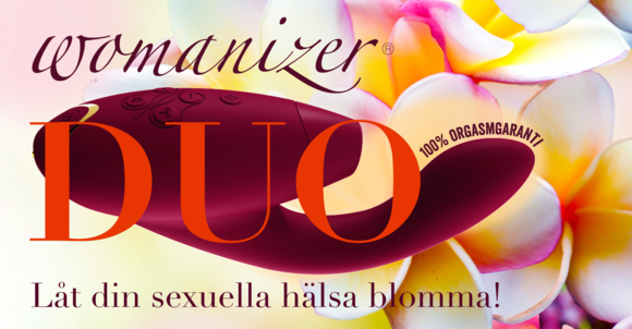 DUO Womanizer med 100 % orgasmgaranti